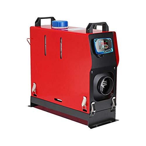Nuovo 12 V Aria Diesel Riscaldatore del carburante 5KW Riscaldatore del veicolo Interruttore a chiave a foro singolo LCD Silenziatore Telecomando per camion di casa Barche Bus Motore dell'automobile