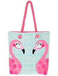 Accessorize Cabas motif flamant rose Philly - Fille