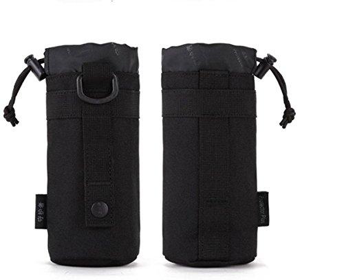 Protector Plus Il piccolo bollitore bag bollitore all'aperto impostato a vita appendente tattica bollitore allegato subcontract borsa , jungle Black