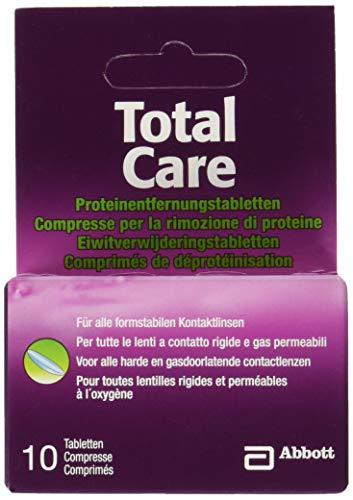 AMO Total Care Proteinentferner, 10 Tabs, 1er Pack (1 x 10 Stück)