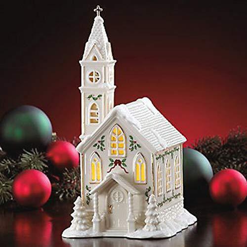 Lenox Village (Lenox Holiday Christmas Village Kirche Figur leuchtet)