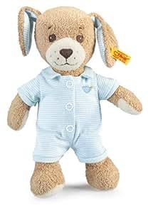 Steiff 239687 - Gute Nacht Hund, 28 cm, blau
