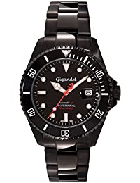 Gigandet Automatic Men's Watch Sea Ground Limited Edition Analog Dive Watch Steel Strap Black G2 – 006