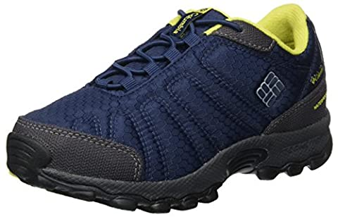 Columbia Jungen Youth Firecamp Sledder Ii Wp Outdoor Fitnessschuhe, Blau (Collegiate Navy/ Ginkgo), 37 (Columbia Kinder Schuhe)