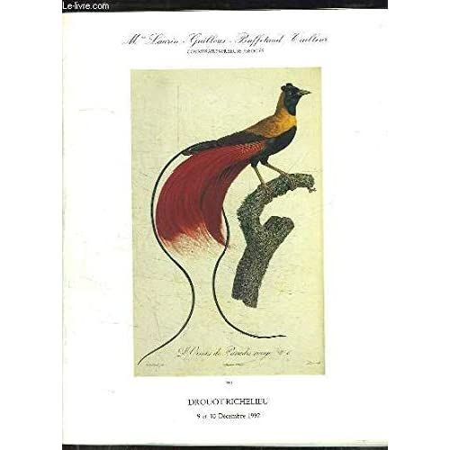Catalogue de la Vente aux Enchères Publiques des 9 et 10 décembre 1992, à Drouot-Richelieu. Exceptionnel Ensemble de Relations de Voyages - Livres anciens.