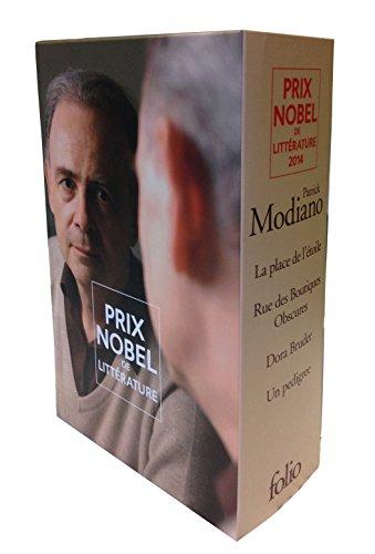 Coffret Modiano : La place de l'étoile - Rue des Boutiques Obscures - Dora Bruder - Un pédigrée par Patrick Modiano