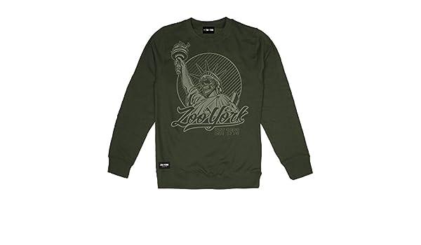 Liberty Amazon Skull Zoo Felpa York Abbigliamento it Uomo xAwF8F5X