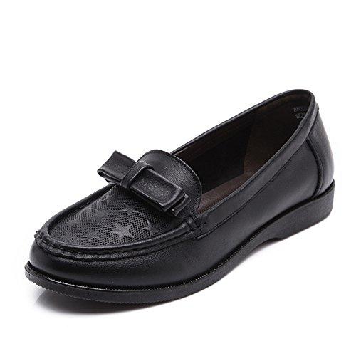 Printemps loisir femmes chaussures asakuchi/ doux bas avec des chaussures de femmes d'âge moyen/Chaussures de maman/Chaussures de mode A