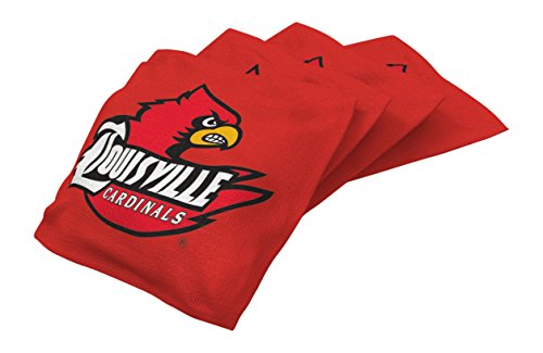 Wild Sports NCAA Verordnung duckcloth Sitzsäcke (4Pack), Unisex, rot