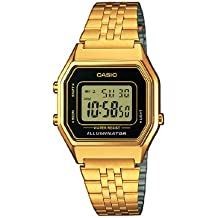 Casio Collection – Reloj Mujer Correa de Acero Inoxidable LA680WEGA-1ER