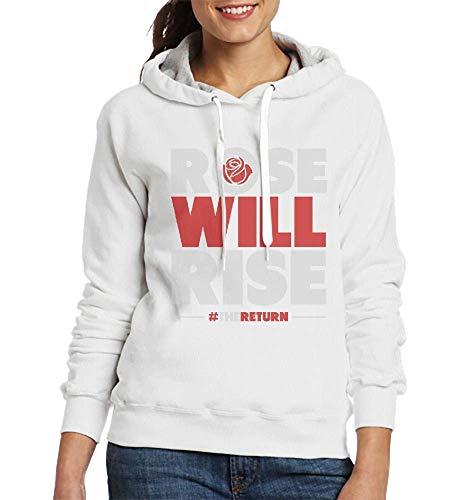HHHcustom Sweatshirts for Women Rose Will Rise Womens Hoodies