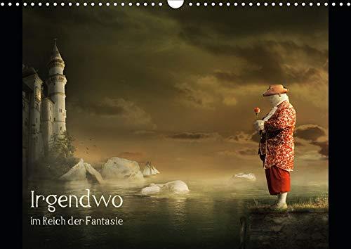Irgendwo im Reich der Fantasie (Wandkalender 2020 DIN A3 quer): Eine Welt der Fantasie, irgendwo zwischen real und surreal. (Monatskalender, 14 Seiten ) (CALVENDO Kunst)