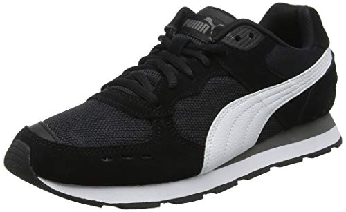 Puma Vista, Scarpe Sportive Indoor Unisex-Adulto, Nero Black White-Charcoal Gray, 42 EU