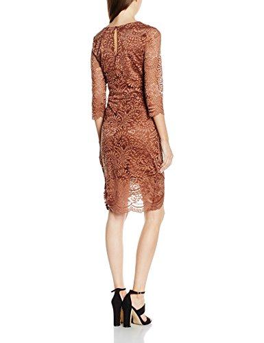 Only 15118803, Robe Femme Marron - Cognac
