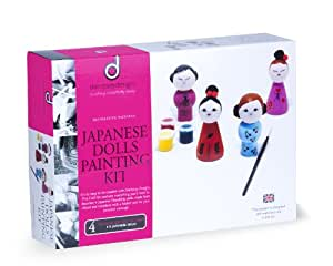 Dempsey Designs Japanese Dolls Painting Kit