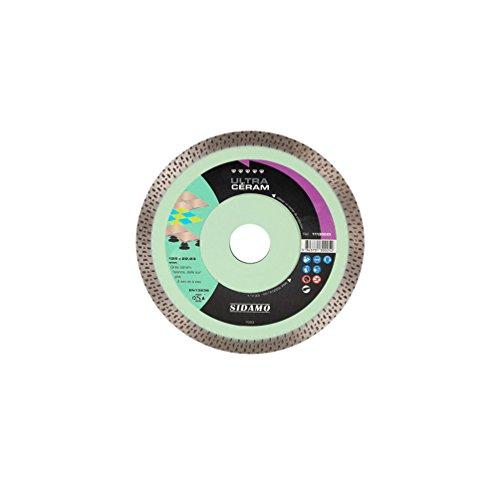 Preisvergleich Produktbild Sidamo–Diamant-Trennscheibe für Ultra D. 115x 22,23x H 10mm Steingut Nasenbeutler/Steingut–11130024–Sidamo