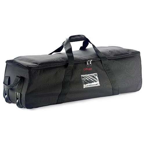 Stagg PSB-38/T Professionelle Percussion Bag Caddy mit Rädern
