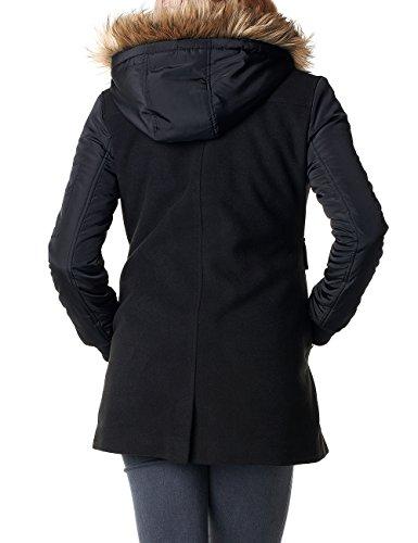 Noppies Jacket Ammy - Veste de Maternité - Femme Noir - Schwarz (Black C270)