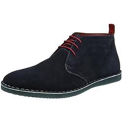 Pisamierdas Joe Browns Gibson Suede Boots, Botas Desert para Hombre, Azul (Navy a), 46 EU