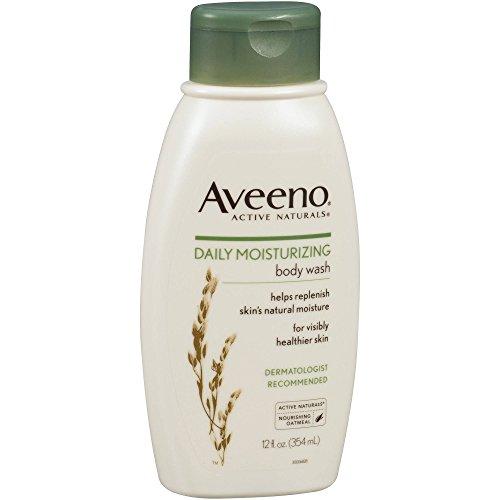 Aveeno Aveeno Active Naturals Daily Hidratante Body Wash 12oz paquete de 7