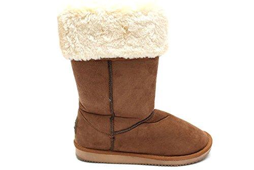 Mr Shoes, Damen Stiefel & Stiefeletten  Braun Marrone Marrone (Tenné)