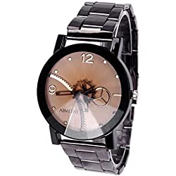 OverDose Leisure Creative Gifts Convex Quartz Gear Lovers Watch