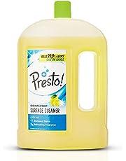 Amazon Brand - Presto! Disinfectant Floor Cleaner Citrus, 2 L