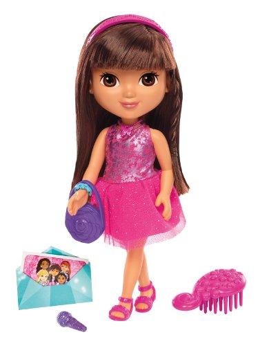 Fisher-Price - Dora et ses Amis - Dora Soirée Dansante - Poupée 20 cm