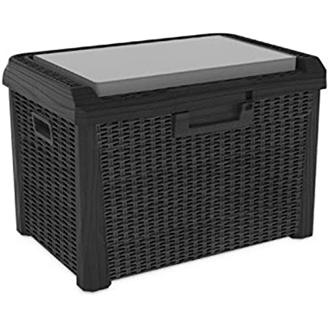 Toomax Compact Santorini Plus - Baúl, color antracita