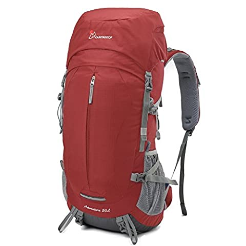 Mountaintop 50L Hiking Backpack/Outdoor Rucksack/Sport Daypack,66 x 33 x 25 cm