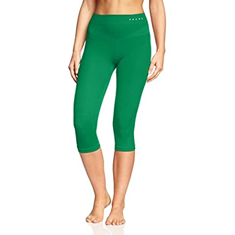 FALKE, Leggings intimi 3/4 da sci Donna Skiing Athletic, Verde
