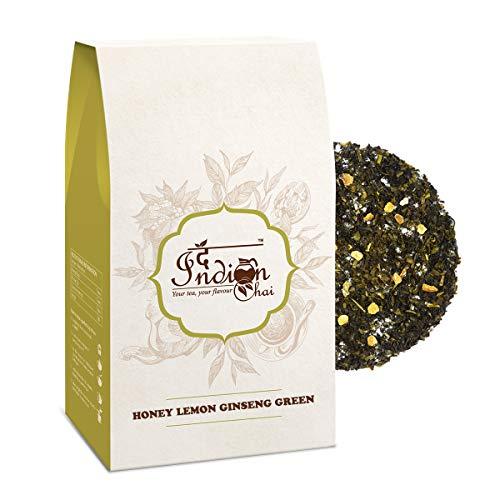 The Indian Chai - Honey Lemon Ginseng Green Tea 100g
