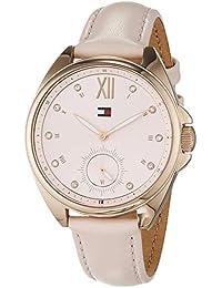 Tommy Hilfiger Reloj Multiesfera para Mujer de Cuarzo con Correa en Cuero 1781992