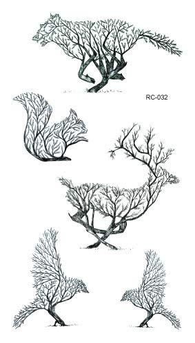 dly Wasserdichte Tattoo Aufkleber Original Farbe Kleine Frische Schönheit Persönlichkeit Tattoo Aufkleber Custom Großhandel Tattoo RC-032 ()