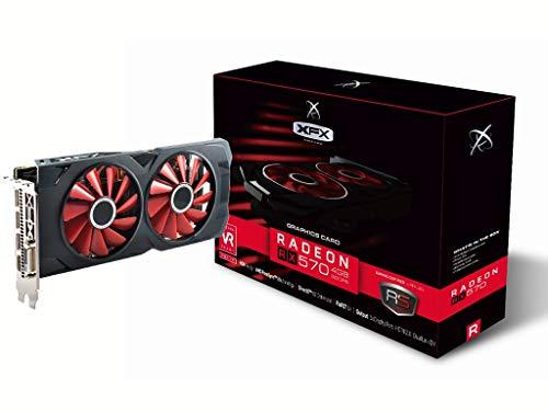 XFX RX-570P4DFD6 Grafikkarte Radeon RX 570 4 GB GDDR5 - Grafikkarten (Radeon RX 570, 4 GB, GDDR5, 256 Bit, 4096 x 2160 Pixel, PCI Express 3.0)