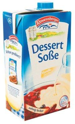 Preisvergleich Produktbild MILRAM Dessert-Sosse Vanille,  12er Pack (12 x 1000 ml)
