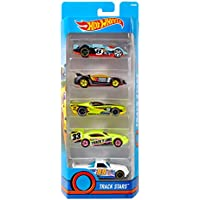 Hot Wheels 1806 Diecast and Mini Toy Cars, Pack of 5 (Assorted Models)