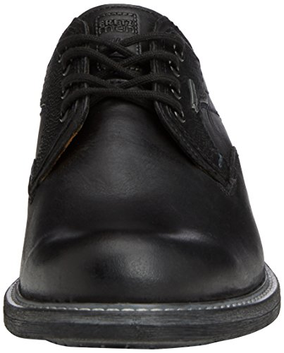 Fretz Hombres - Belfort, Derby Low Top Shoes Negro De Los Hombres (schwarz (51 Noir))