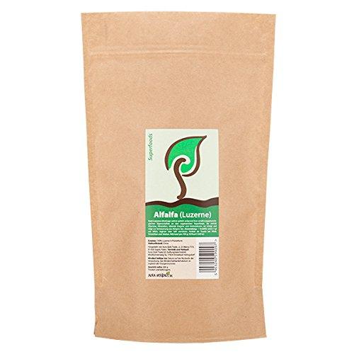 Alfalfa Pulver 200g 100% Luzerne in Pulverform -