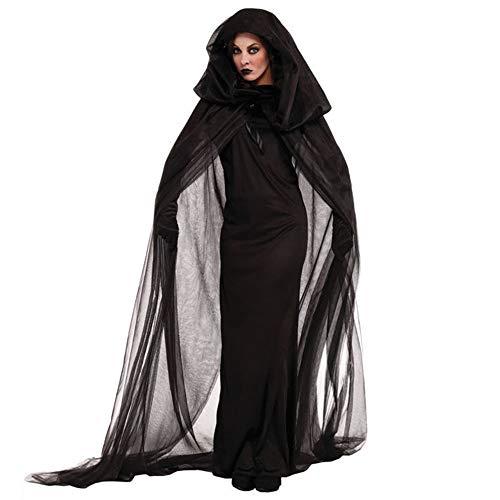 LVLUOYE Halloween Game Uniform, Night Wandering Soul Female Costume, Witch ()