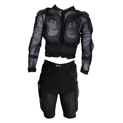 KESOTO Vêtements Protection Moto pour Motocross, Vélo de Saleté, Cafe Racer, Quad