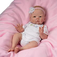 Tasha Edenholm Snuggle Bunny Lifelike Poseable Baby Doll by The Ashton-Drake Galleries by The Ashton-Drake Galleries