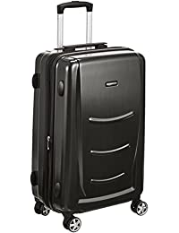 AmazonBasics 68 cm Slate Grey Hardshell Check-in Trolley