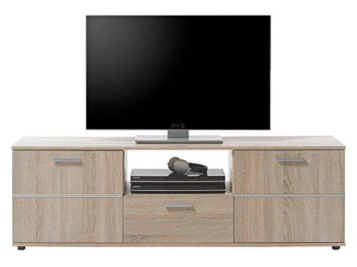 """TV-Lowboard Unterschrank Fernsehschrank Fernsehtisch Longboard Hifi """"Loos I"""""""