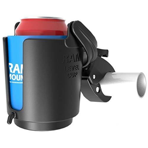 Ram Mounts RAM Drink Cup Holder W/TOUGHCLAW, RAM-B-132-400 (W/TOUGHCLAW) -