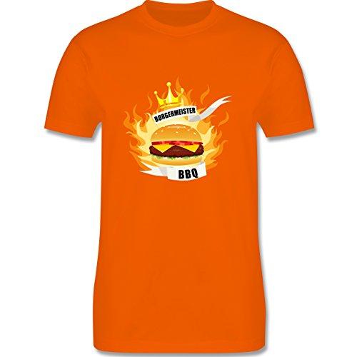 Grill - Burgermeister - Herren Premium T-Shirt Orange