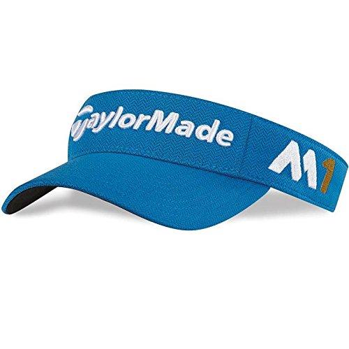 2016 TaylorMade Tour Radar M1 Adjustable Leistung Mens Golf Visor Shock Blue