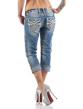Rock Revival Donna Capri Jeans BARBILA P212