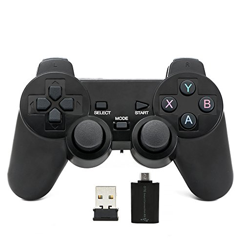 QUMOX 2.4GHz Gamepad Joystick Joypad Game Controller für PC Android Bluetooth-gamepad Pc