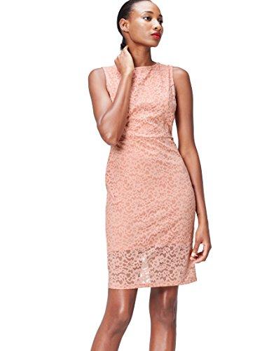 FIND 70231A vestiti da sera donna eleganti, Rosa (Blush), 42 (Taglia Produttore: Small)